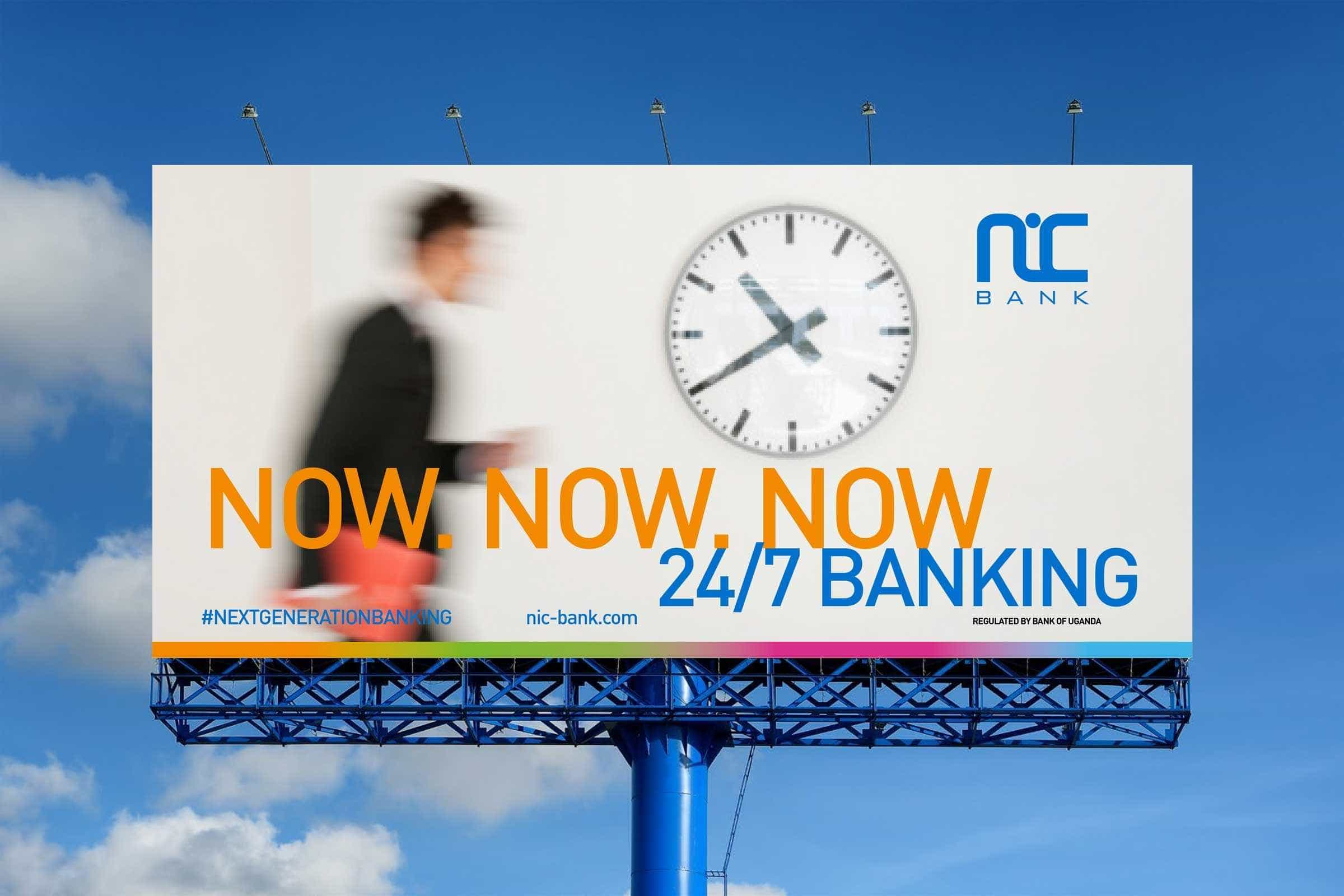 NIC Bank Outdoor Billboard Advertising 2